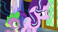 """Starlight """"not exactly thrilled with the options"""" S6E1"""