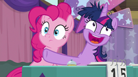 "Twilight Sparkle ""gee, Pinkie!"" S9E16"