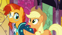 """Applejack """"they went off with Star Swirl"""" S7E25"""