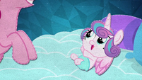 Flurry Heart reaching out to Pinkie Pie BFHHS5