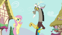 "Fluttershy ""Did you bring the cucumber sandwiches?"" S4E26"