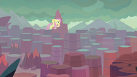 Fluttershy searches the Dragon Lands S9E9