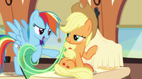 """Rainbow Dash """"what is that?"""" S6E1"""