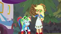 Rainbow Dash and Applejack unamused CYOE11