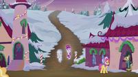S06E08 Snowfall i duch wchodzą do wioski
