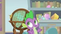Spike amused by Starlight's excitement S9E20
