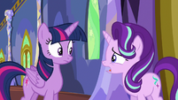 "Starlight Glimmer ""everypony's acting a little strange"" S6E25"