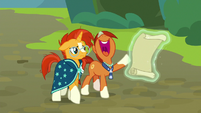 """Stellar Flare excited """"more missions!"""" S8E8"""