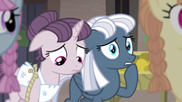 Sugar Belle and Night Glider feel sympathy S5E02