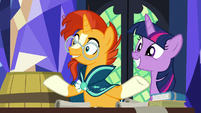 "Sunburst ""without knowing what's inside"" S7E24"