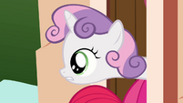 Sweetie Belle asks about beds S03E11