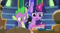 "Twilight Sparkle ""it won't be the same"" S9E26"