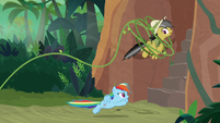 Vine about to ensnare Daring Do S9E21
