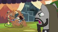 Ancient beast dealer yells at orthros S4E22