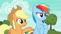 """Applejack """"Ponyville is countin' on a win"""" S6E18"""