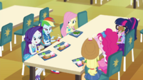 Equestria Girls having lunch together EGDS37