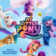 MLP A New Generation soundtrack cover