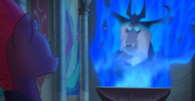 MLP The Movie Hasbro website - Storm King and Tempest