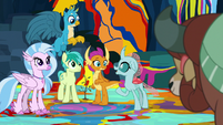 """Ocellus """"took care of the smashing"""" S9E3"""