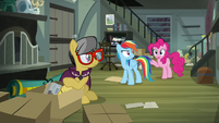 """Pinkie Pie """"but if we go there"""" S7E18"""