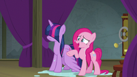 """Pinkie Pie """"just like a burning marshmallow!"""" S8E7"""