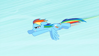 Rainbow Dash accelerating S1E16