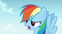 """Rainbow Dash exhausted """"again?"""" S7E14"""