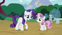 "Rarity ""what would a grown pony like you"" S7E6"