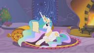 S01E12 Księżniczka czyta list od Twilight