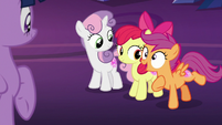"""Scootaloo """"did I mention we're glowing?!"""" S8E6"""