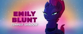 Second trailer promo shot of Tempest Shadow MLPTM