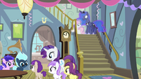 Sweetie Belle -this is my fifth birthday party- S4E19