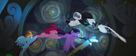 Twilight Sparkle grabs the Staff of Sacanas MLPTM