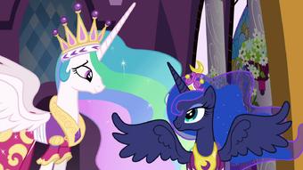 Princess Luna My Little Pony Friendship Is Magic Wiki Fandom