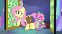 """Fluttershy """"I figured out who the Mystical Mask is!"""" S7E20"""