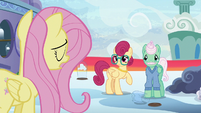 """Fluttershy """"speaking up for yourself can be hard"""" S6E11"""