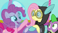 """Pinkie Pie """"I'm dropping you two off"""" S9E4"""