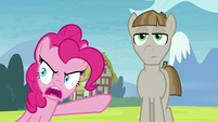 """Pinkie Pie """"did he put you up to this?!"""" S8E3"""
