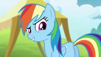 "Rainbow ""come on, Ponyville relay team!"" S4E10"