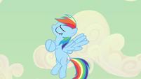 Rainbow Dash acting all sappy S2E14