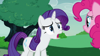 "Rarity ""all my good intentions squashed!"" S7E9"