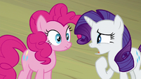 """Rarity """"our lead actress is"""" S8E7"""