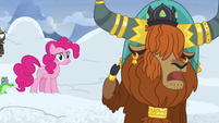 """Rutherford """"snow falls from mountain all the time!"""" S7E11"""
