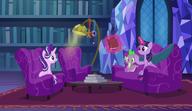 S06E08 Twilight pokazuje książkę