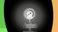 Steam gauge in Applejack's eye S6E10