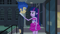 "Twilight and Flash ""I didn't mean no"" EG"