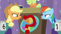 AJ and RD stick their tongues at each other S9E16
