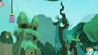 Chrysalis looks around the village S5E26