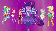 Equestria Girls in their Crystal Guardian forms EG4.png
