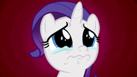 Filly Rarity starting to cry S6E14